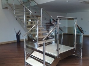 Steel Access Stairs Bournemouth